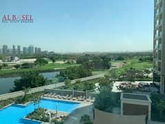 Full Pool & Golf  View | 2 BR +Maid +Laundry | Vida Hills