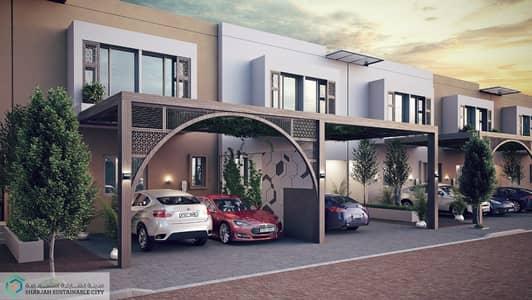 3 Bedroom Townhouse for Sale in Al Rahmaniya, Sharjah - 2 covered parking slot