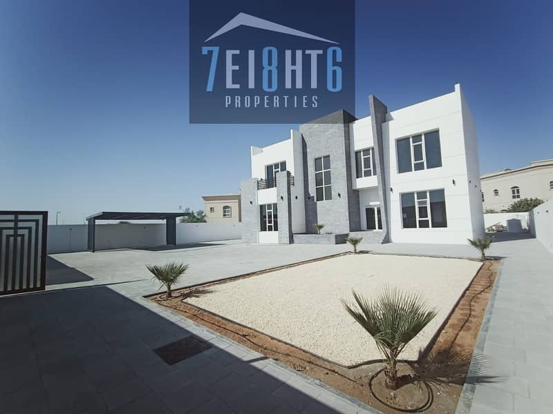 1 Outstanding property: 4 b/r good quality independent villa + maids room + large garden for rent in NAS 3