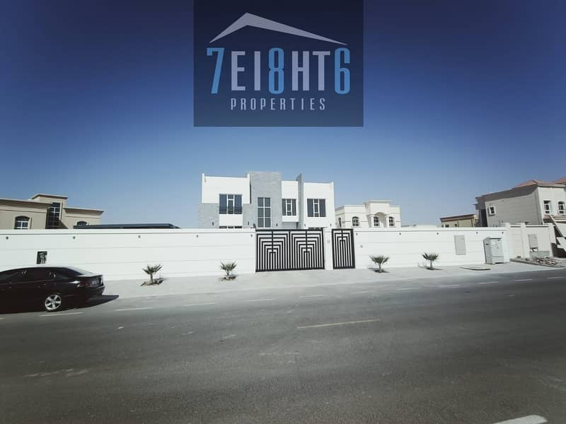 15 Outstanding property: 4 b/r good quality independent villa + maids room + large garden for rent in NAS 3