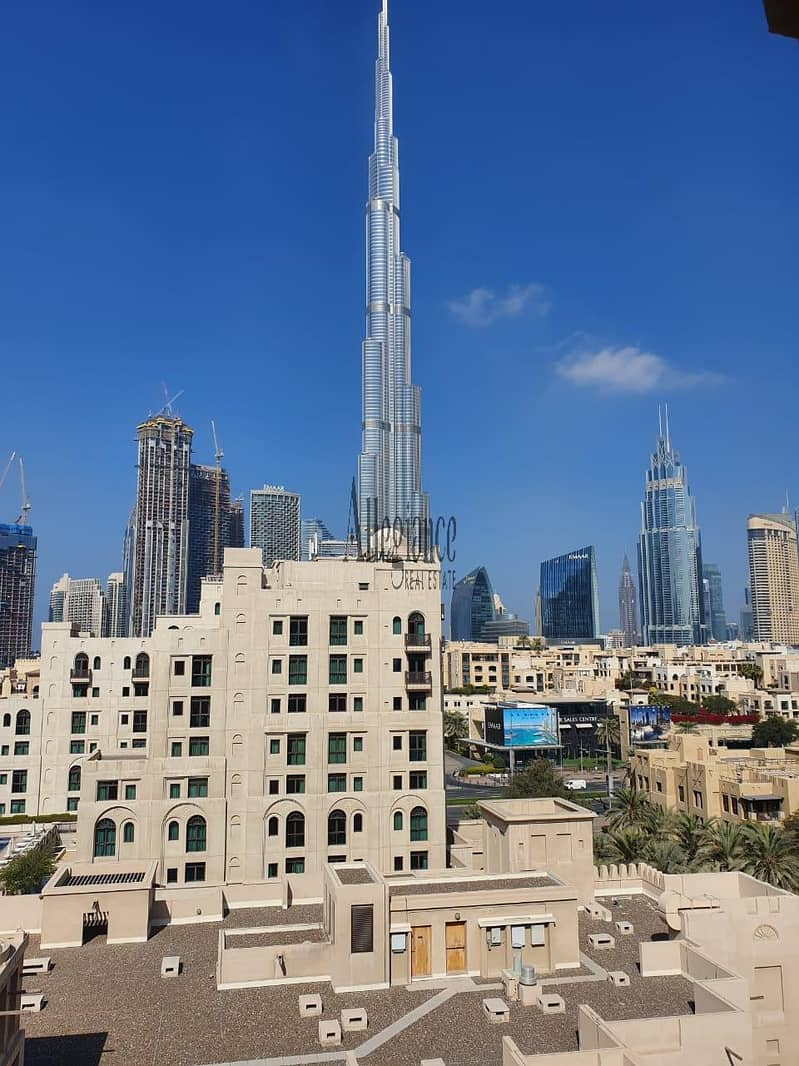 2 Amazing deal |Burj Khalifa & Old Town View |2 + maids
