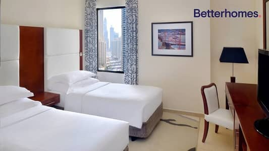 شقة فندقية 2 غرفة نوم للايجار في جميرا بيتش ريزيدنس، دبي - fully serviced/pets friendly /all bills included