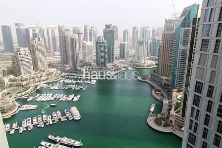 شقة 1 غرفة نوم للبيع في دبي مارينا، دبي - Exclusive   Marina & Sea Views   Vacant