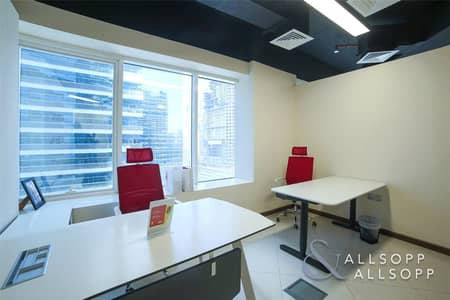 Pantry/Washroom | Corner Office | Burj Views