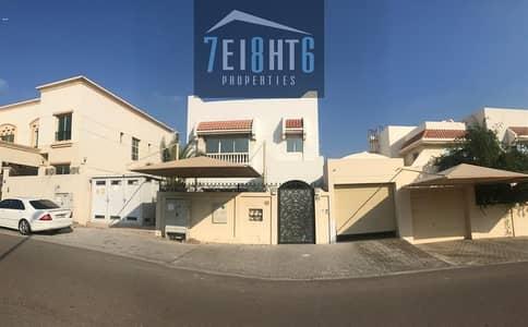 4 Bedroom Villa for Rent in Al Garhoud, Dubai - Excellent quality: 4 b/r semi-indep villa + mais room + sharing s/pool + large landscaped garden for rent in Garhoud