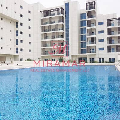Studio for Sale in Masdar City, Abu Dhabi - FULLY FURNISHED!!! FULL POOL VIEW!! EXCLUSIVE VIEW!