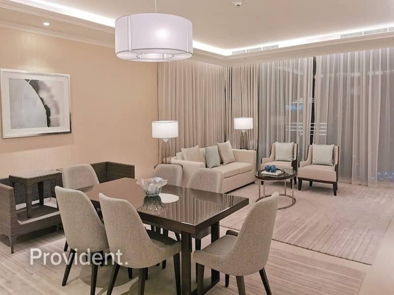 2 High Floor   Furnished   Burj and Downtown Views