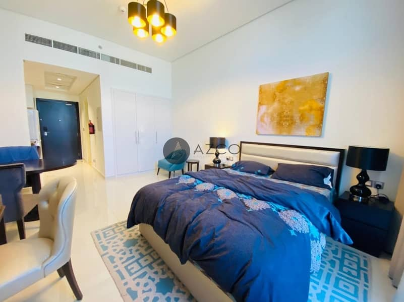Fully Furnished Studio|High Floor|Chiller Free