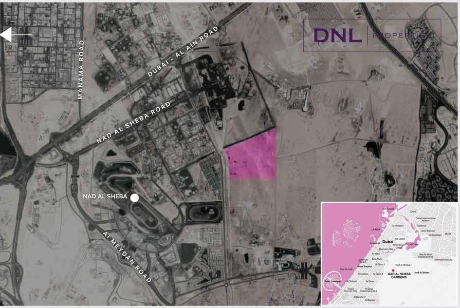 12 CORNER PLOT | Call Your Nad Al Sheba Specialist