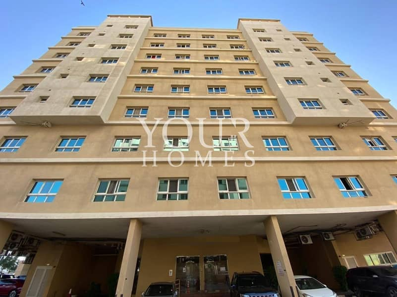 2 AS l Large 1 BR Apt For Rent in Silicon Oasis