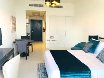 Studio for Rent in Jumeirah Village Circle (JVC), Dubai - Pay 4Chqs | Amazingly Furnished | Std With Balcony