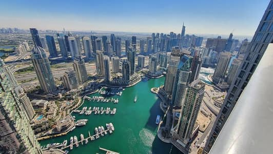 شقة فندقية في داماك ريزيدنس دبي مارينا 3 غرف 21500 درهم - 4980992
