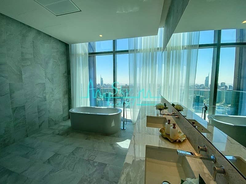 2 Marina Gate Penthouse on 61st floor|4-BR Sky View|5810sq.ft