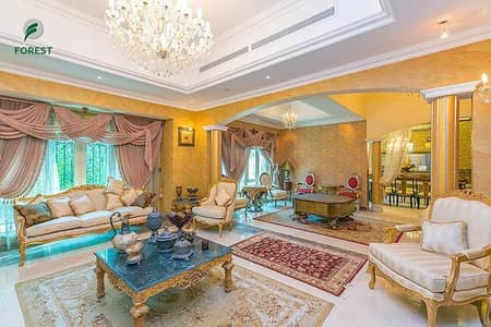 4 Bedroom Villa for Sale in Jumeirah Islands, Dubai - Lake View | 4BR + M | Private Pool and Garden