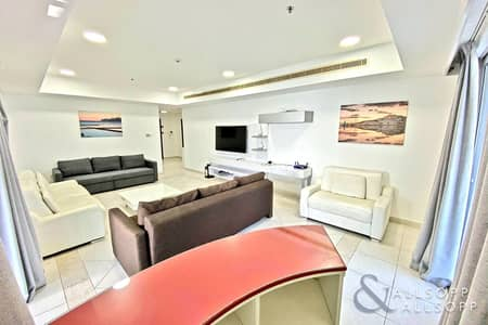 2 Bedroom Flat for Sale in Dubai Marina, Dubai - Sea & Golf Course Views | 1765Sf | 2 Beds