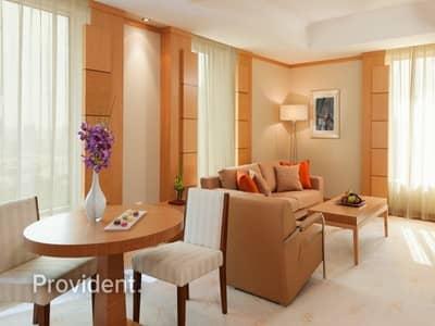 شقة 1 غرفة نوم للايجار في شارع الشيخ زايد، دبي - Furnished   All Bills and Housekeeping Included