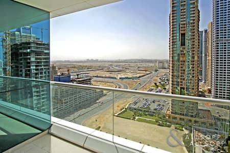 2 Bedroom Apartment for Rent in Jumeirah Lake Towers (JLT), Dubai - Two Bedrooms | High Floor | Unfurnished