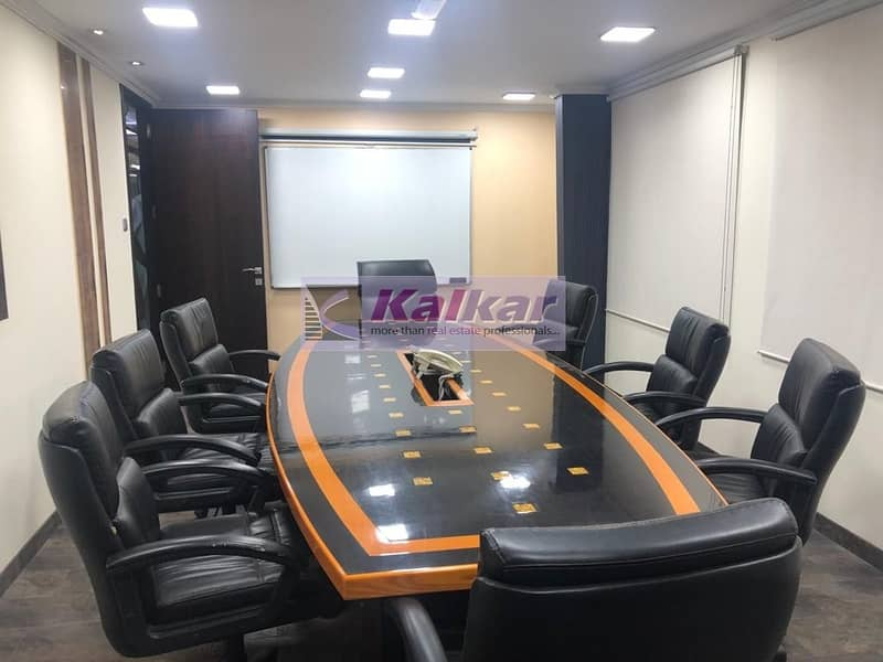 13 !! GOOD LOCATION 3000 SQFT FURNISHED OFFICE IN ALQUOZ AED: 250