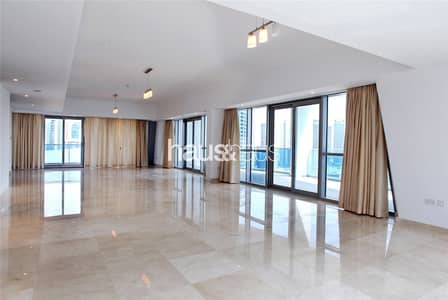 4 Bedroom Penthouse for Sale in Dubai Marina, Dubai - Full Floor Penthouse | Marina View | Private Pool