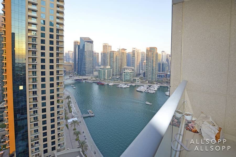 1 Bed | High Floor | Marina and Sea View