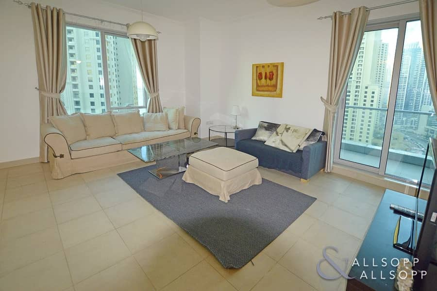 2 1 Bed | High Floor | Marina and Sea View
