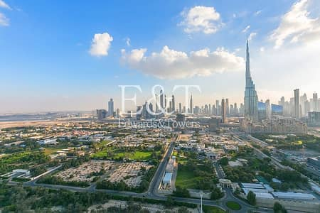 2 Bedroom Flat for Sale in DIFC, Dubai - Zabeel and Burj Khalifa view | High floor
