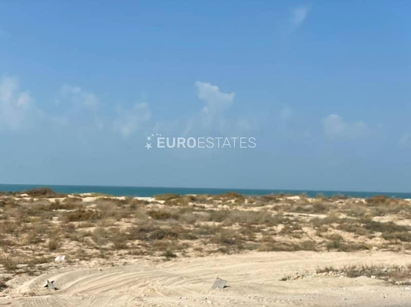 2 Massive Beachfront Lot at Jazeera Prime Location
