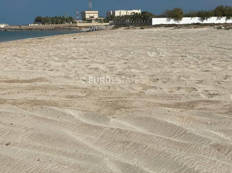 12 Massive Beachfront Lot at Jazeera Prime Location