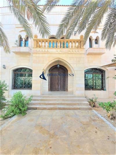 فیلا 8 غرف نوم للايجار في المقطع، أبوظبي - Luxurious Huge 8BR +Maids I Private Entrance and Elevator