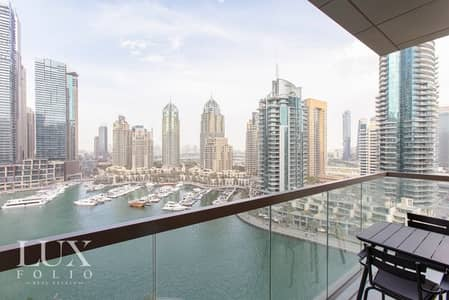 2 Bedroom Apartment for Sale in Dubai Marina, Dubai - Full Marina View - Luxury Living - Prime Location