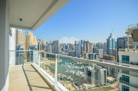 2 Bedroom Apartment for Rent in Dubai Marina, Dubai - Prime I Marina View I Bright I Modern I Open Layout