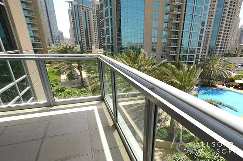 1 Bed | Low level | Balcony | Pool Views