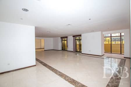 4 Bedroom Apartment for Rent in Jumeirah Beach Residence (JBR), Dubai - Huge Layout | Low Floor | Private Pool Access