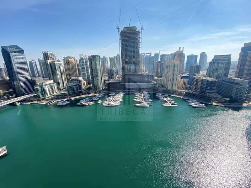 Chiller Free // Stunning 2Br // Full Marina view