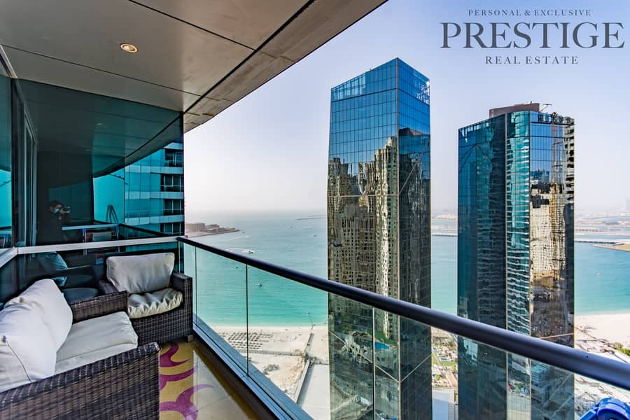 2 Luxury 2 Bed | Large layout | Sea View | Furnished