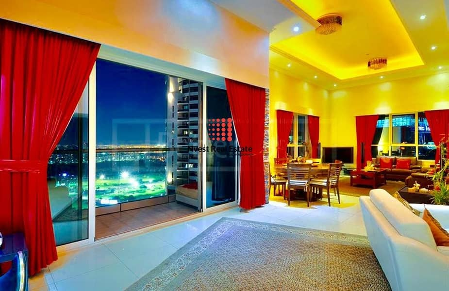 Spacious Pent House | Semi Furnished | Two Covered Parking
