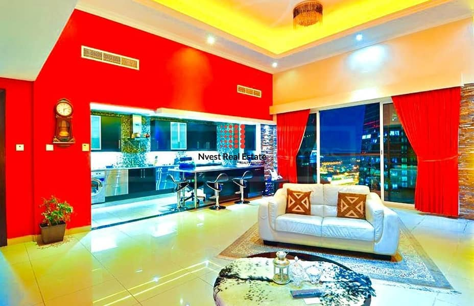 2 Spacious Pent House | Semi Furnished | Two Covered Parking