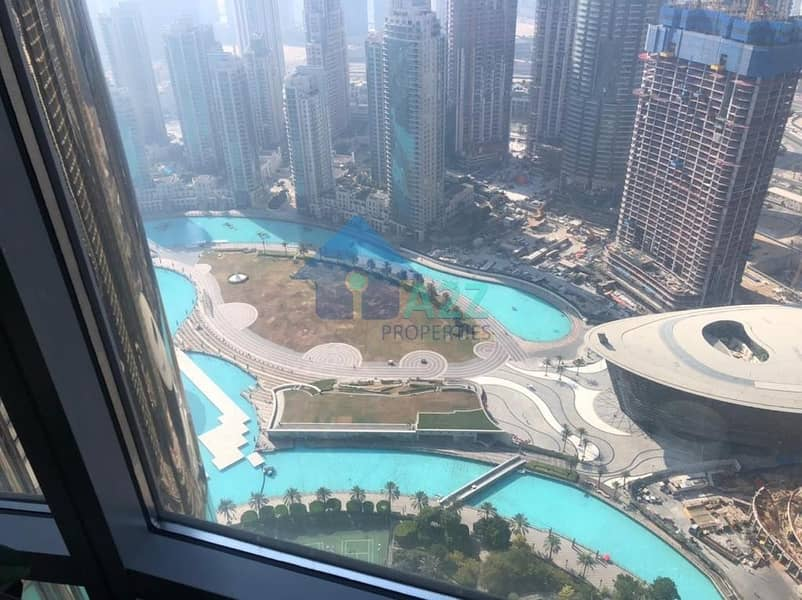 Exclusive 1 bed  Fully Furnished   Fountain View !