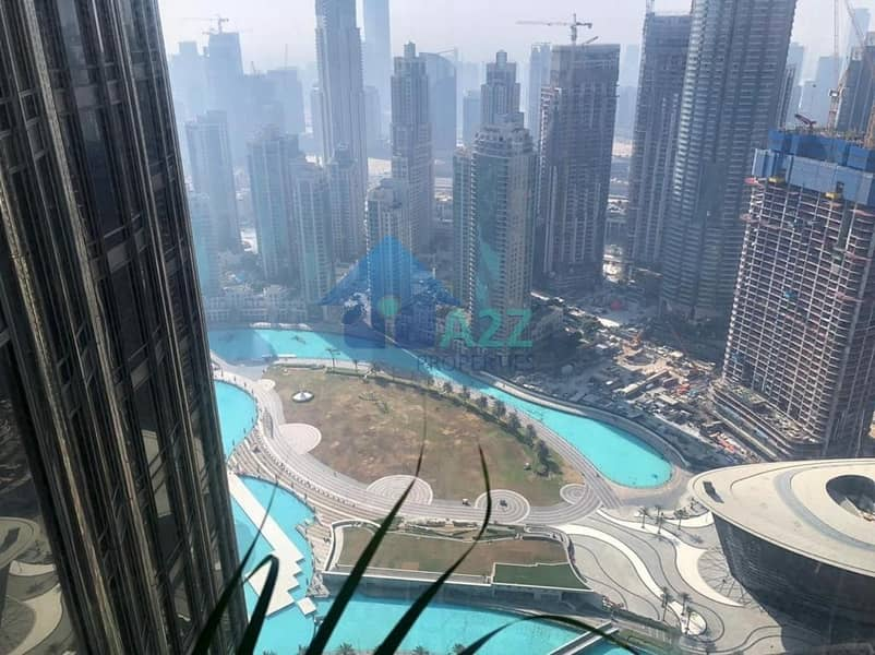 4 Exclusive 1 bed  Fully Furnished   Fountain View !