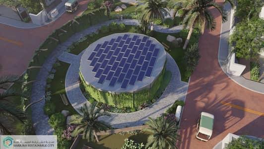 4 Bedroom Townhouse for Sale in Al Rahmaniya, Sharjah - Green Spaces