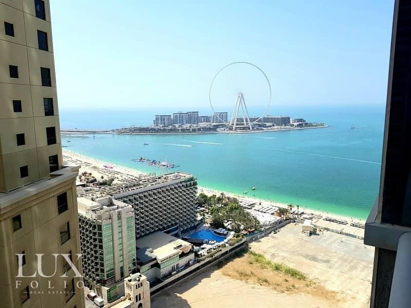 View of Dubai Eye|Sea & Marina Views |Luxury