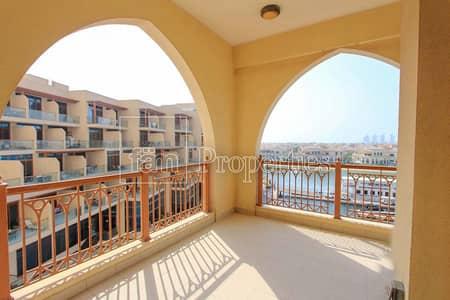 شقة 3 غرف نوم للبيع في نخلة جميرا، دبي - Unique apartment with full Sea / Marina View