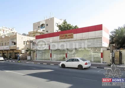 Shop for Sale in Al Nuaimiya, Ajman - Commercial Property for Sale | On Main Road