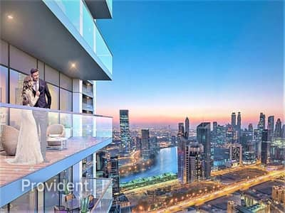 شقة 1 غرفة نوم للبيع في الخليج التجاري، دبي - Fully fitted kitchen | Spacious Bedrooms