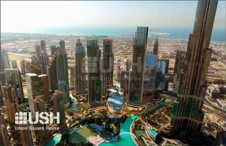 Lowest Price 2Br Apt with Partial Burj Khalifa View
