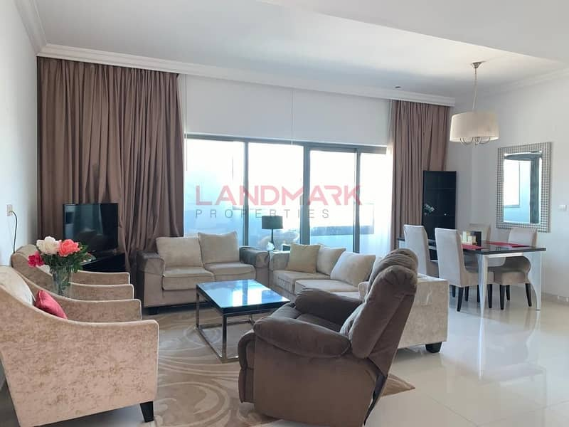 2 Spacious Furnished 1 Bedroom In Capital Bay Tower