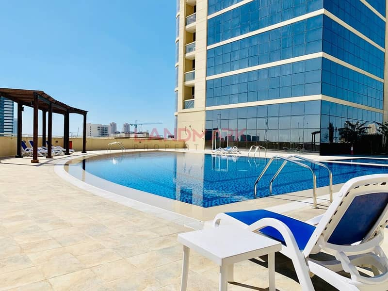 Spacious 2 BHK  Made | High Floor | For Rent | Reef Residence