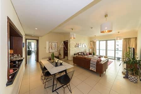 شقة 2 غرفة نوم للبيع في وسط مدينة دبي، دبي - Maintained | Tenanted | Study Room | High Floor
