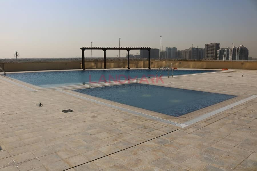 21 SPACIOUS BRIGHT 2 BHK+MAID GOLF AND CITY VIEW in JVC