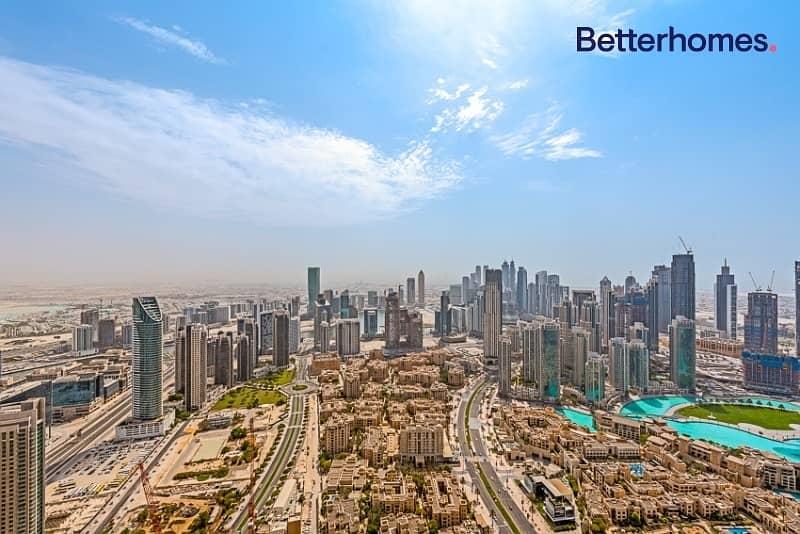 2 Genuine Listing|Top FloorIFull Burj View